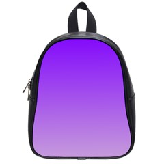 Violet To Wisteria Gradient School Bag (Small)