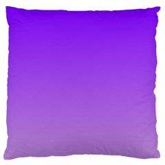 Violet To Wisteria Gradient Large Cushion Case (One Side)
