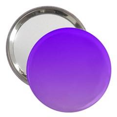 Violet To Wisteria Gradient 3  Handbag Mirror