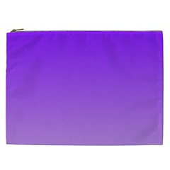 Violet To Wisteria Gradient Cosmetic Bag (XXL)