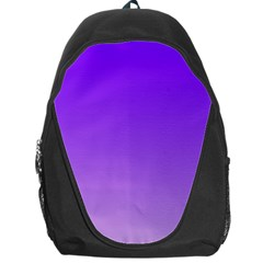 Violet To Wisteria Gradient Backpack Bag