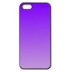 Violet To Wisteria Gradient Apple iPhone 5 Seamless Case (Black)