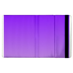 Violet To Wisteria Gradient Apple iPad 2 Flip Case