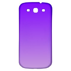 Violet To Wisteria Gradient Samsung Galaxy S3 S III Classic Hardshell Back Case