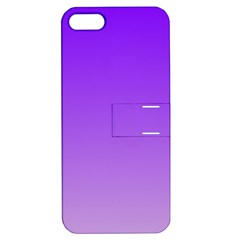 Violet To Wisteria Gradient Apple Iphone 5 Hardshell Case With Stand