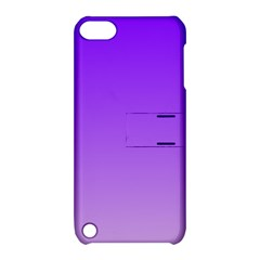Violet To Wisteria Gradient Apple iPod Touch 5 Hardshell Case with Stand