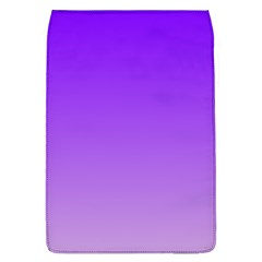 Violet To Wisteria Gradient Removable Flap Cover (large)