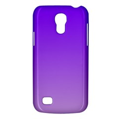 Violet To Wisteria Gradient Samsung Galaxy S4 Mini Hardshell Case