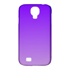 Violet To Wisteria Gradient Samsung Galaxy S4 Classic Hardshell Case (PC+Silicone)