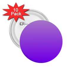 Wisteria To Violet Gradient 2.25  Button (10 pack)