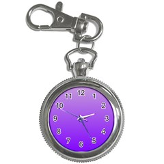 Wisteria To Violet Gradient Key Chain & Watch