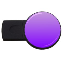 Wisteria To Violet Gradient 2GB USB Flash Drive (Round)