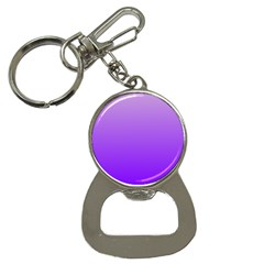 Wisteria To Violet Gradient Bottle Opener Key Chain