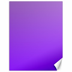 Wisteria To Violet Gradient Canvas 12  X 16  (unframed)