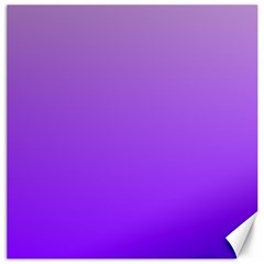Wisteria To Violet Gradient Canvas 20  x 20  (Unframed)