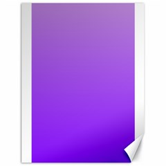 Wisteria To Violet Gradient Canvas 18  X 24  (unframed)