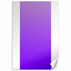 Wisteria To Violet Gradient Canvas 20  x 30  (Unframed)