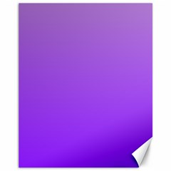 Wisteria To Violet Gradient Canvas 11  x 14  (Unframed)