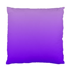 Wisteria To Violet Gradient Cushion Case (Two Sides)