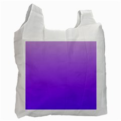 Wisteria To Violet Gradient Recycle Bag (Two Sides)