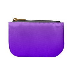 Wisteria To Violet Gradient Coin Change Purse