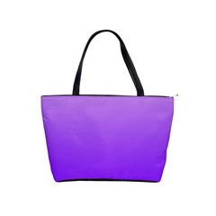 Wisteria To Violet Gradient Large Shoulder Bag