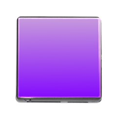 Wisteria To Violet Gradient Memory Card Reader with Storage (Square)