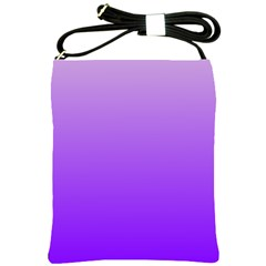 Wisteria To Violet Gradient Shoulder Sling Bag
