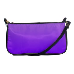 Wisteria To Violet Gradient Evening Bag