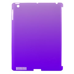 Wisteria To Violet Gradient Apple iPad 3/4 Hardshell Case (Compatible with Smart Cover)