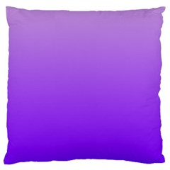 Wisteria To Violet Gradient Large Cushion Case (One Side)