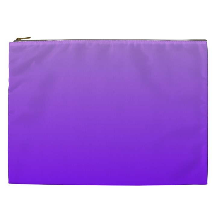Wisteria To Violet Gradient Cosmetic Bag (XXL)