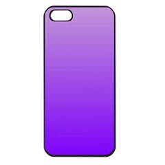 Wisteria To Violet Gradient Apple iPhone 5 Seamless Case (Black)