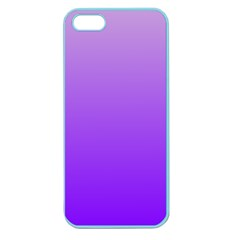 Wisteria To Violet Gradient Apple Seamless iPhone 5 Case (Color)