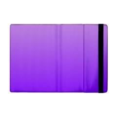 Wisteria To Violet Gradient Apple iPad Mini Flip Case