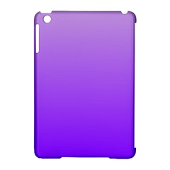 Wisteria To Violet Gradient Apple iPad Mini Hardshell Case (Compatible with Smart Cover)