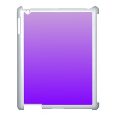 Wisteria To Violet Gradient Apple iPad 3/4 Case (White)