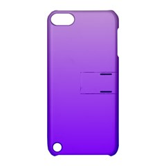 Wisteria To Violet Gradient Apple iPod Touch 5 Hardshell Case with Stand