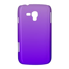 Wisteria To Violet Gradient Samsung Galaxy Duos I8262 Hardshell Case