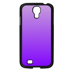 Wisteria To Violet Gradient Samsung Galaxy S4 I9500 (black)