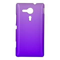 Wisteria To Violet Gradient Sony Xperia Sp M35H Hardshell Case