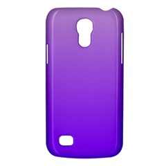 Wisteria To Violet Gradient Samsung Galaxy S4 Mini Hardshell Case