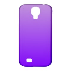 Wisteria To Violet Gradient Samsung Galaxy S4 Classic Hardshell Case (PC+Silicone)