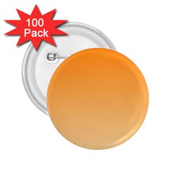 Orange To Peach Gradient 2.25  Button (100 pack)