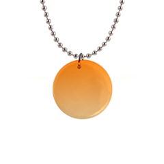 Orange To Peach Gradient Button Necklace
