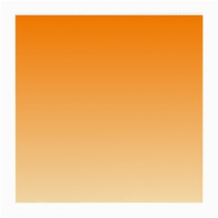 Orange To Peach Gradient Glasses Cloth (Medium, Two Sided)