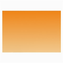 Orange To Peach Gradient Glasses Cloth (Large, Two Sided)