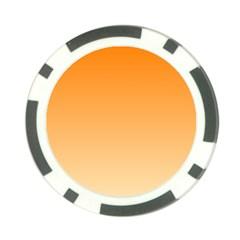 Orange To Peach Gradient Poker Chip 10 Pack