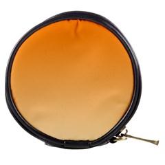 Orange To Peach Gradient Mini Makeup Case