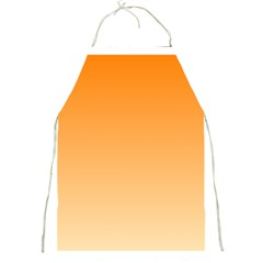 Orange To Peach Gradient Apron